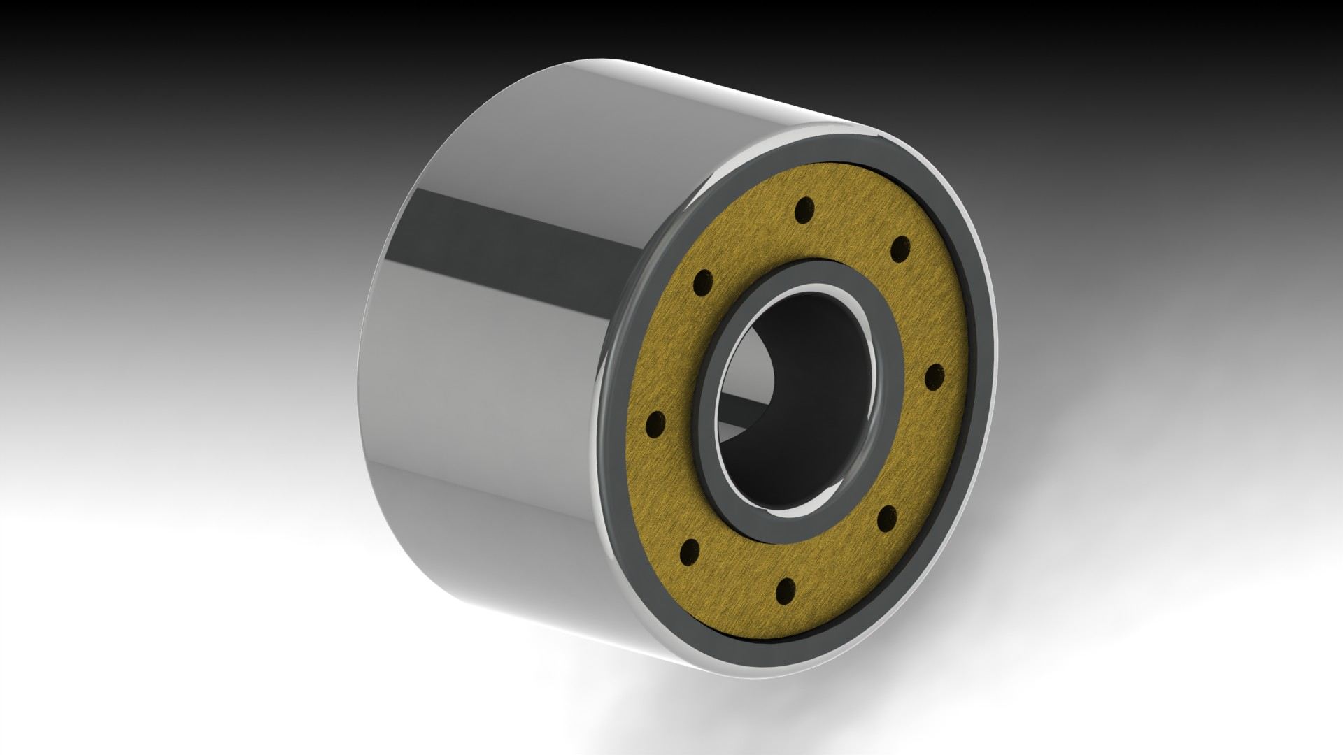 CMC Grooved Roller Bearing