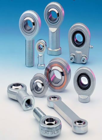 Fluro Rod ends & Spherical Bearings