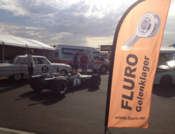 CGB at Phillip Island Historics Fluro Banner